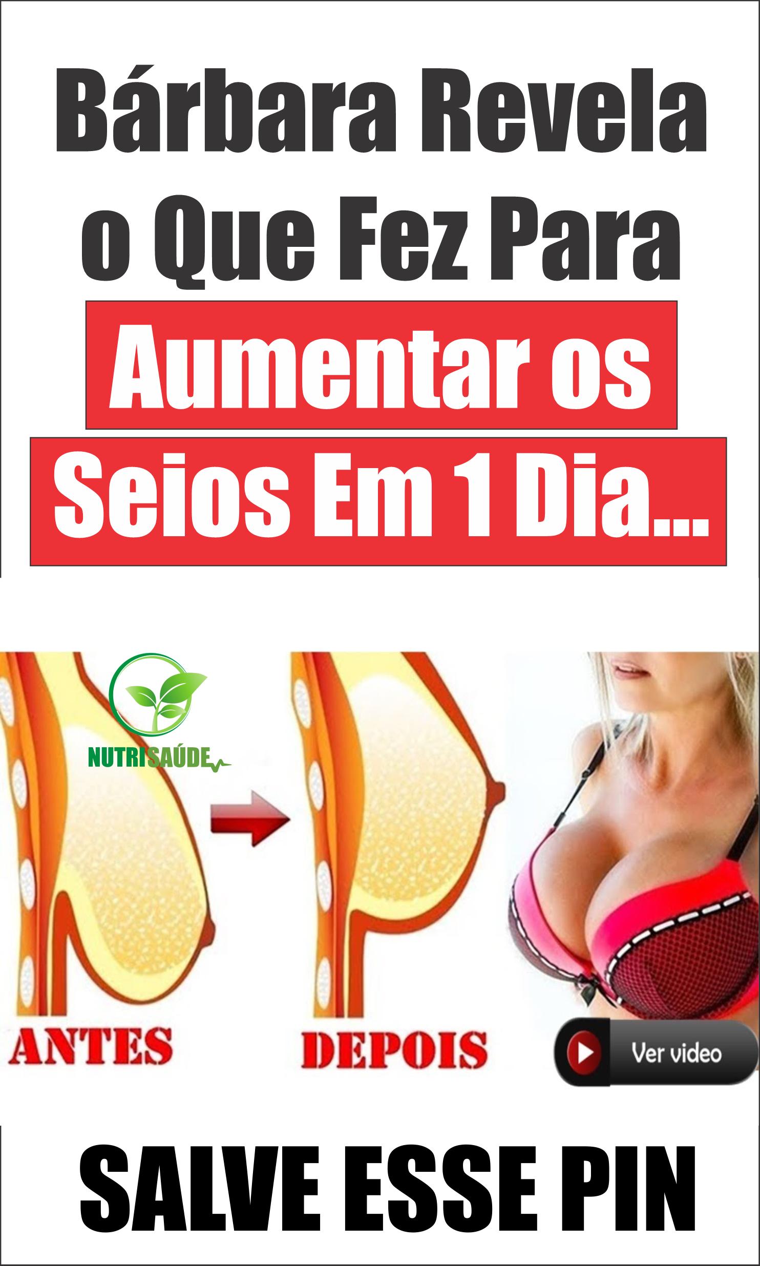 e0688dc3f Bárbara Revela o Que Fez Para Aumentar os Seios Em 1 Dia...