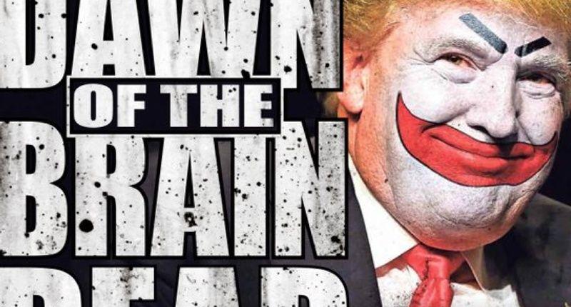 braindead Donald Trump GOP front runner !