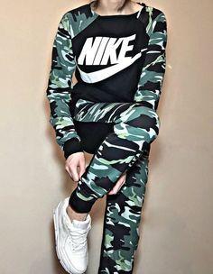 costume nike camouflage