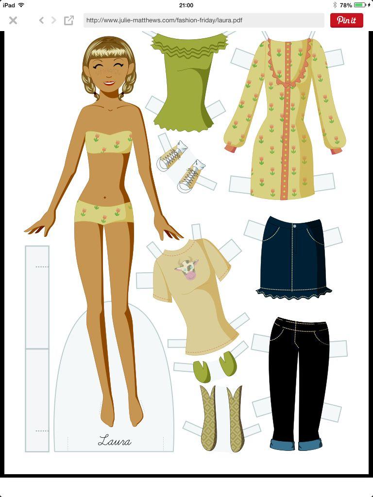 Pin by Mirian Rodriguez on Paper dolls XXV | Pinterest | Dolls, Dyi ...