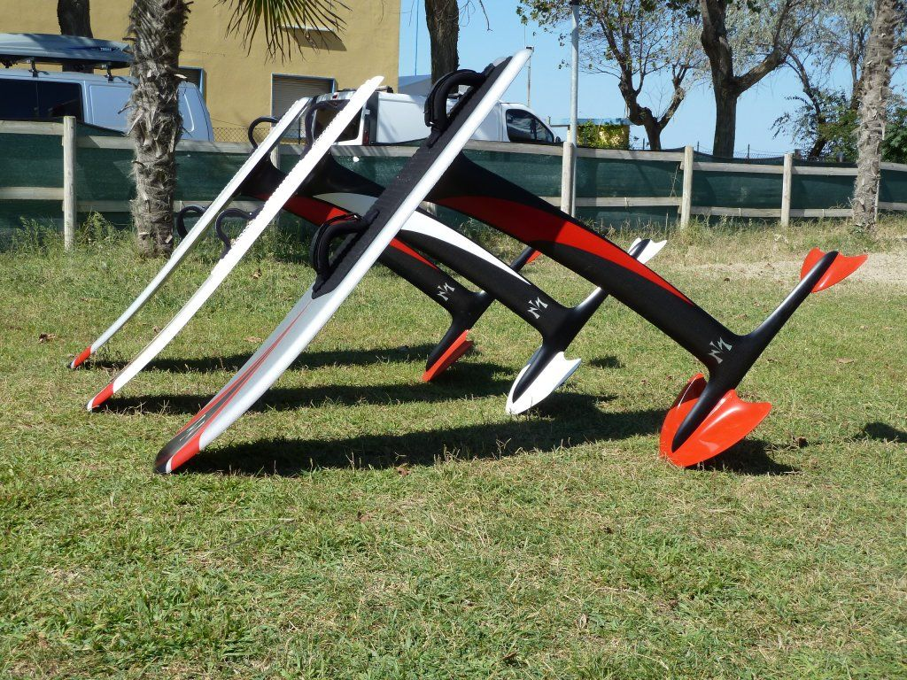 Moses lightwind hydrofoil, fullcarbon stealth fighter