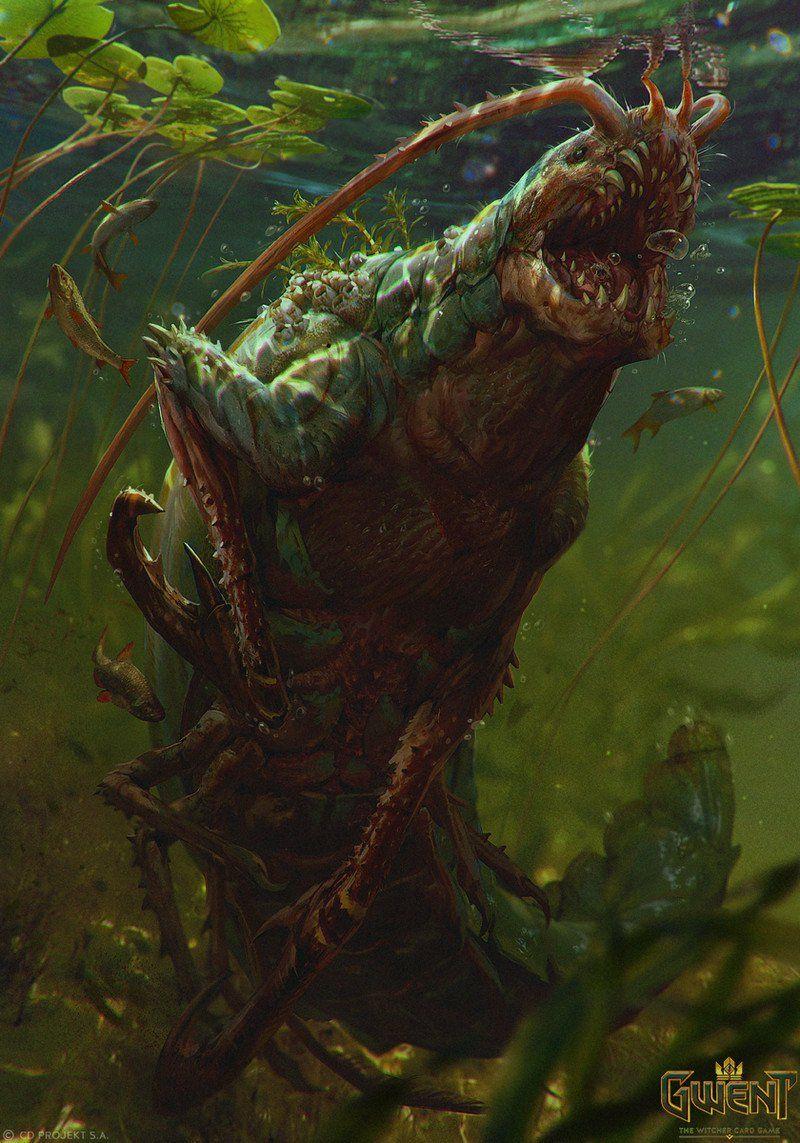 Carrion Crawler Fantasy Monster Fantasy Beasts Creature
