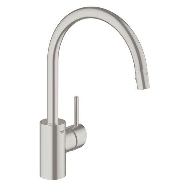 Grohe 31483dc1 - Concetto Kitchen Mixer - Super Steel | House ...