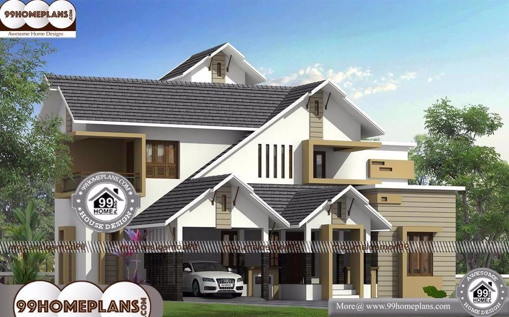 Modern House Roof Design With New House Designs And Prices Having 2 Floor 3 Total Bedroom 3 Total Bathroom And Grou House Roof Design Roof Design House Roof