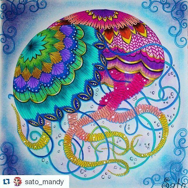 Grande Colorido de @sato_mandy with @repostapp ・・・ Águas vivas do ...