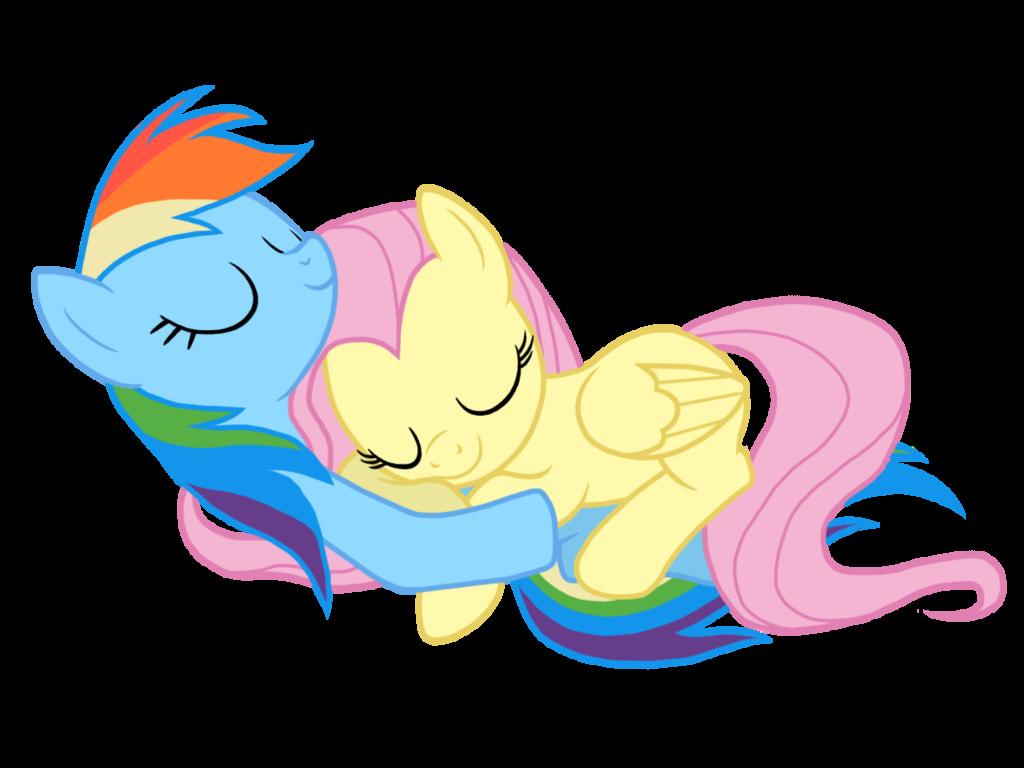 Mlp Rainbow Dash Heart Sleeping Pony Rainbow Dash
