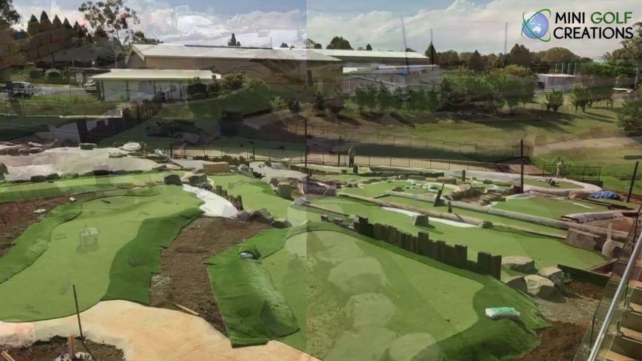Mini Golf Construction Video City Golf Club Toowoomba City Golf