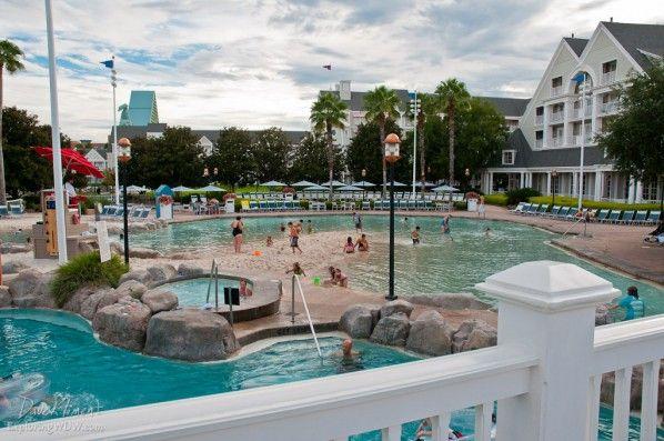 Sandy Bottom Pool At Disney World S Beach Club Resort Planning