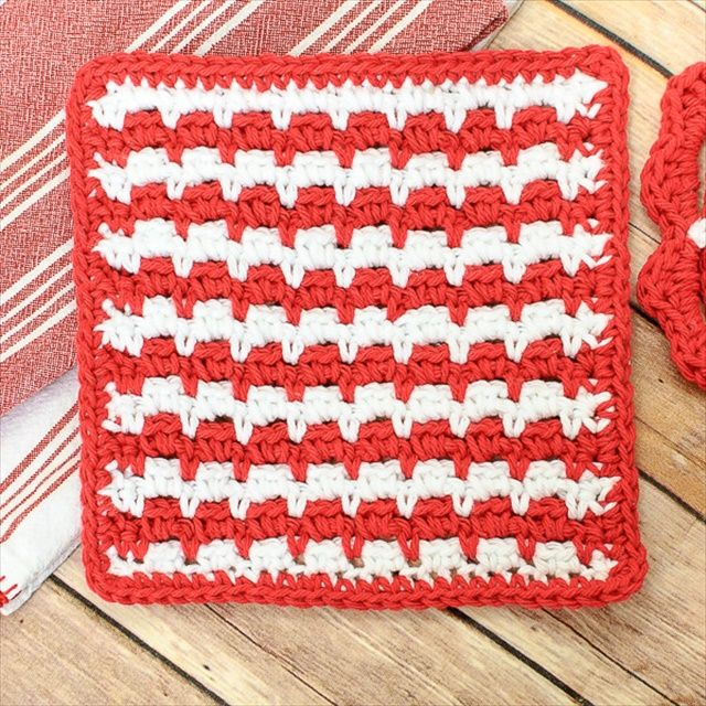 13 Dishcloths & Scrubbies Crochet Patterns