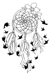 Dream Catcher Outline Image Result For Dreamcatcher Outline  Crafts Etc  Pinterest