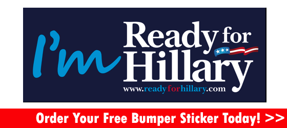 The hillary clinton 2016 presidential campaign officially kicked off with the release of free im ready for hillary bumper stickers which we have tweaked