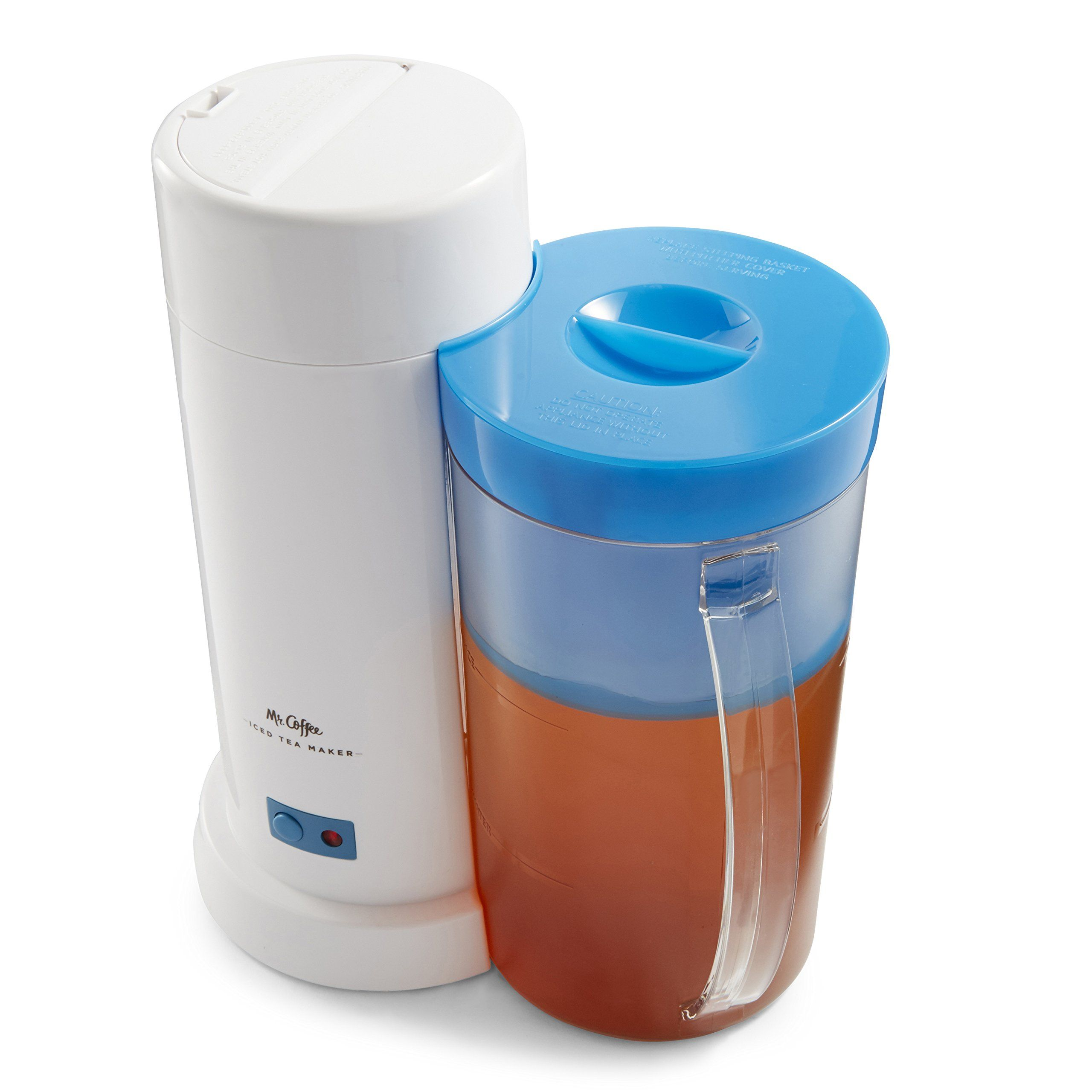 Mr. Coffee TM1 2Quart Iced Tea Maker for Loose or Bagged
