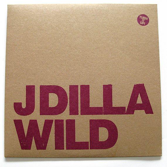 J Dilla Wild 12 Inch With Sleeve J Dilla Wild Vinyl