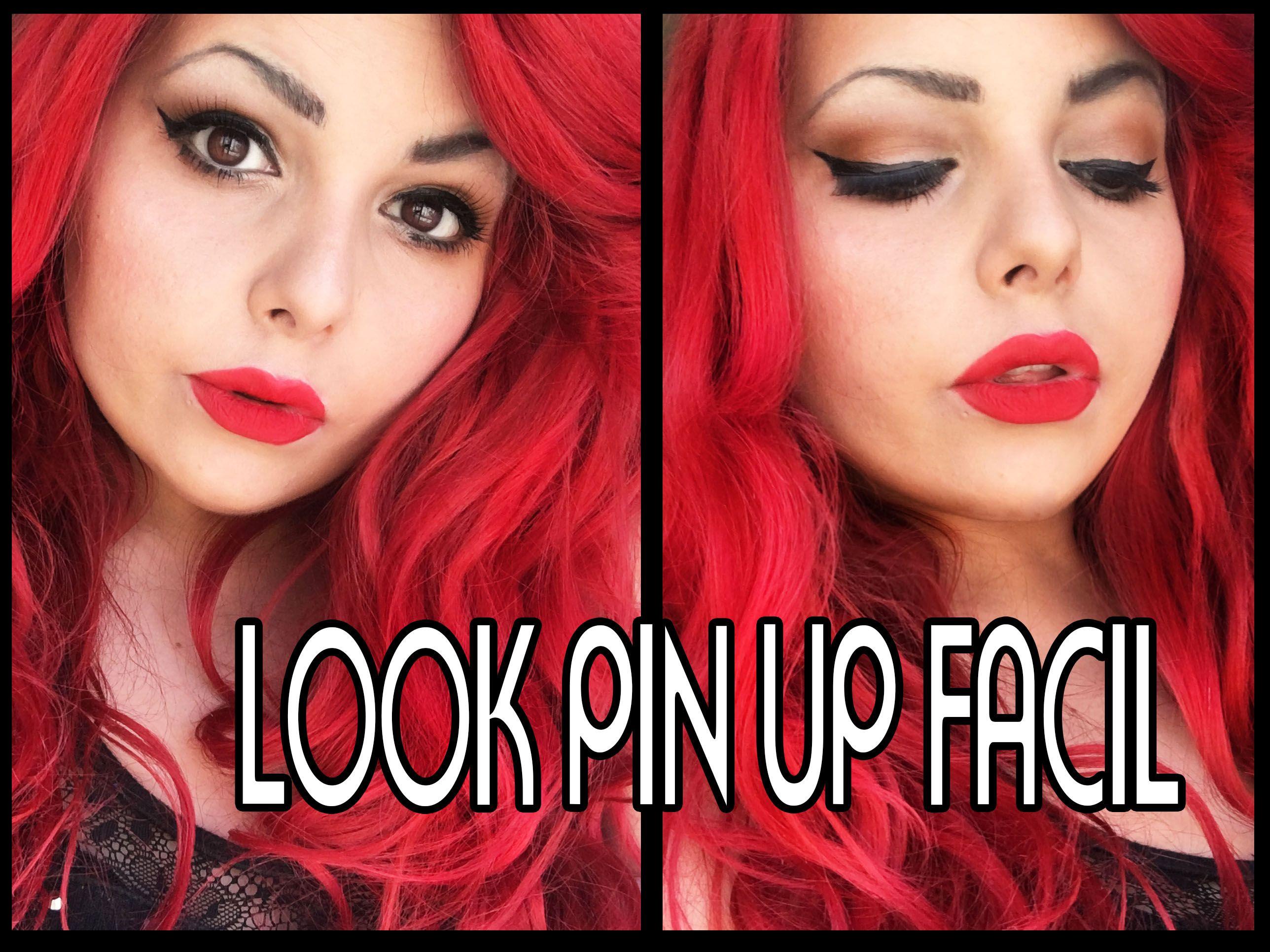 tutorial de maquillaje pin up facil y economico en https://www.youtube.com/watch?v=7btvL_6S-kU