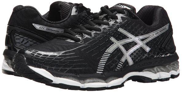all black asics mens shoes