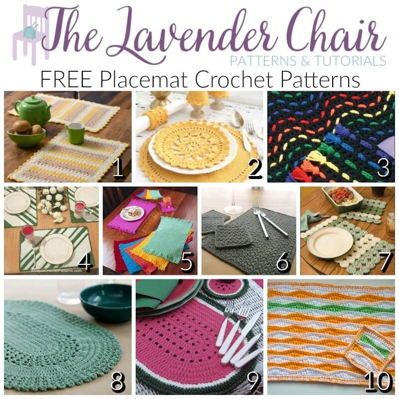 5 Crochet Kitchen Items