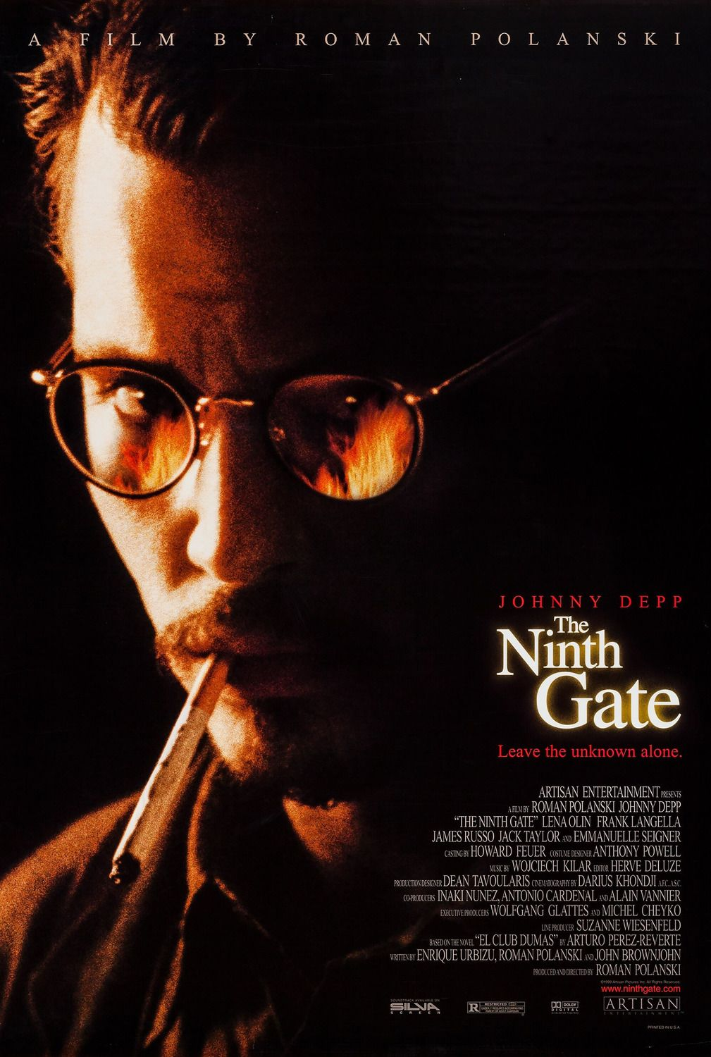 Return To The Main Poster Page For The Ninth Gate 3 Of 4 The Ninth Gate The Nines Johnny Depp