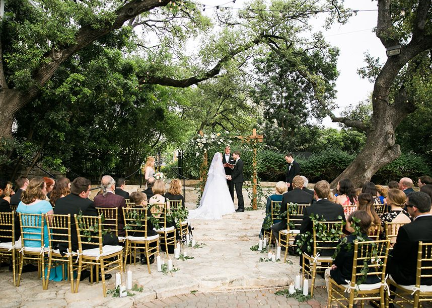 Organic Outdoor Austin Wedding from Pearl Events Austin