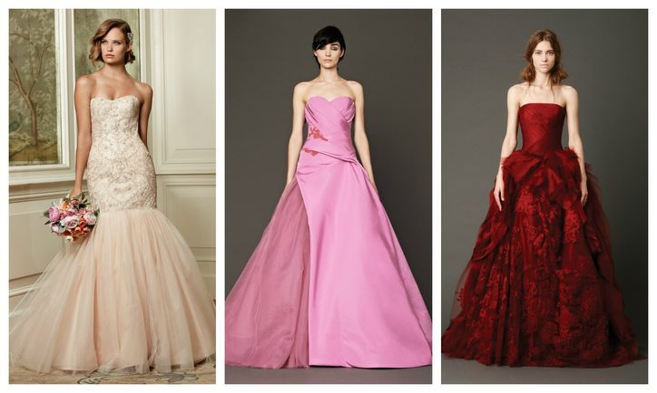 Want a Nonwhite Wedding Dress? 15 Colorful Wedding Gowns, Right This Way