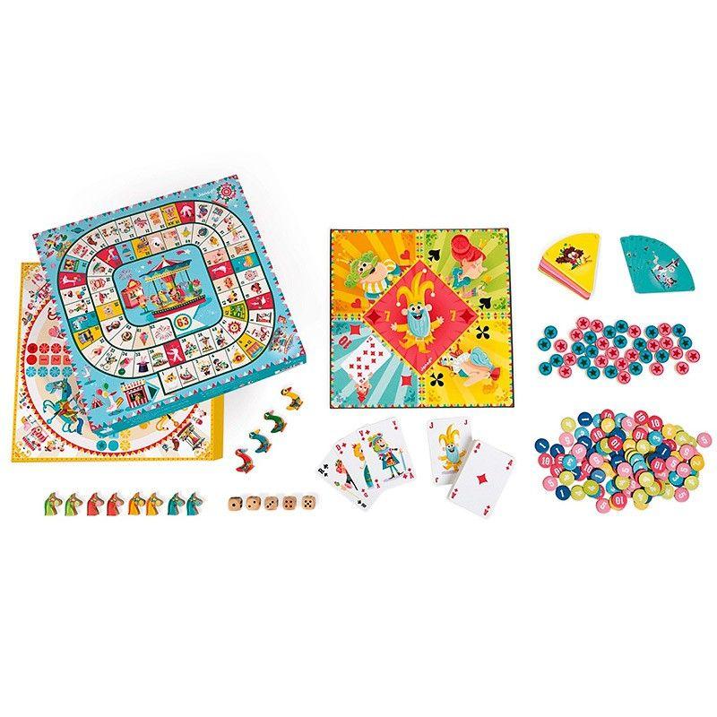 Set Multijuegos Con 50 Juegos Clásicos De Mesa Ideal Para Que Los Niños Compartan Muchas Horas De Juego En Fam Juegos De Mesa Juegos De Cartas Juego De Damas