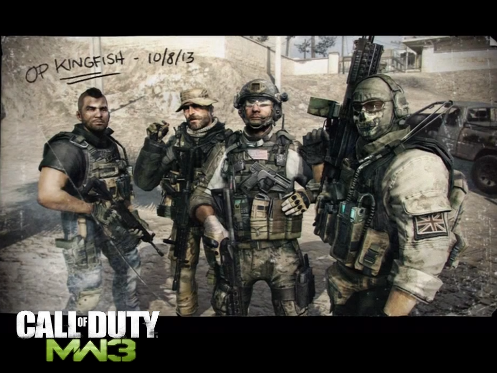 call of duty modern warfare essay