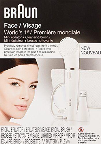 Nylon brush on facial hair remover big