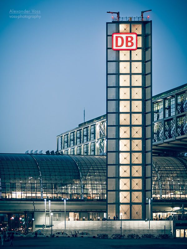 Berlin – Hauptbahnhof | Alexander Voss, Berlin