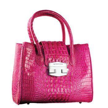 127616c90a4e41 Cerise Pink Leather Handbag - Leather Range from Newbridge Silverware  online Giftware store Ireland