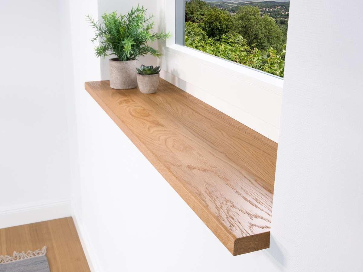 Fensterbank Holz - Eiche