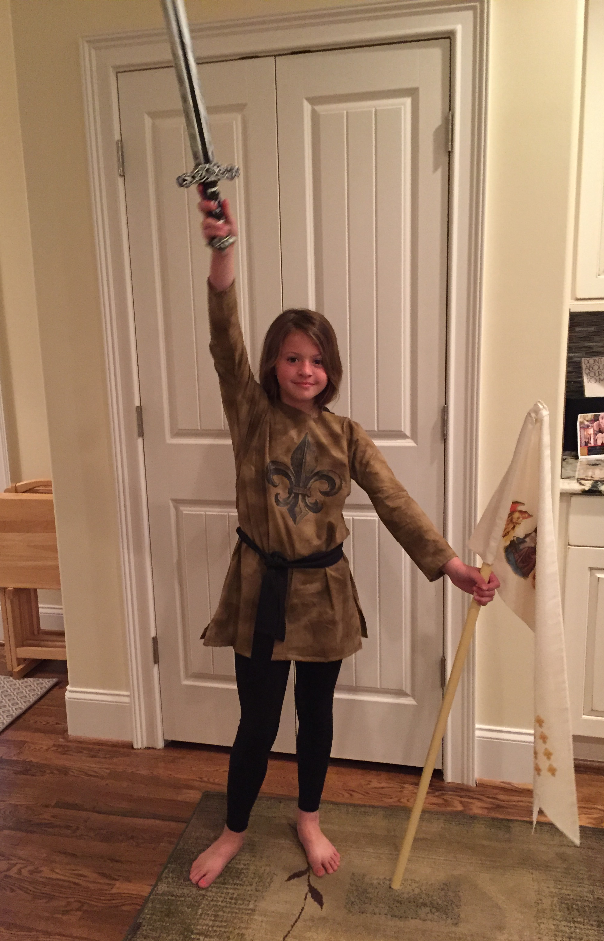My Daughter Chose Joan Of Arc For Her Oral Book Report I