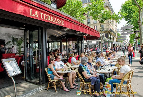 La Terrasse At The Ecole Militaire Metro Stop Just Around