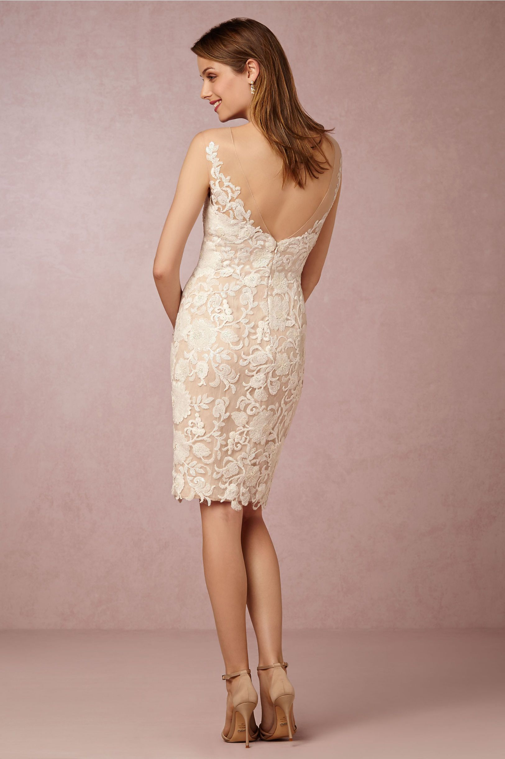 BHLDN Renata Sheath in Bride Reception Dresses at BHLDN | weddings ...