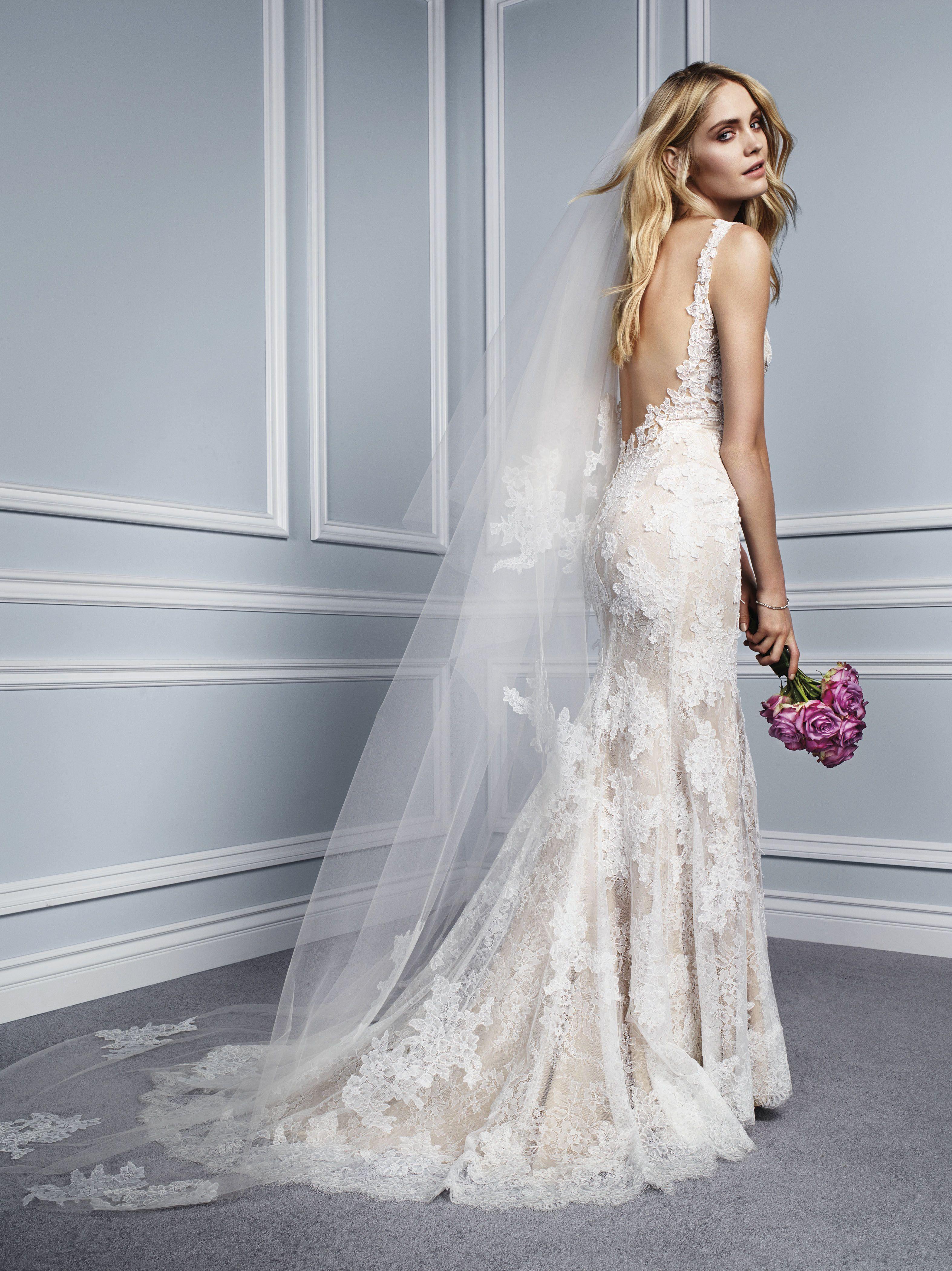 Una colección de vestidos de novia con una magia especial #novias ...