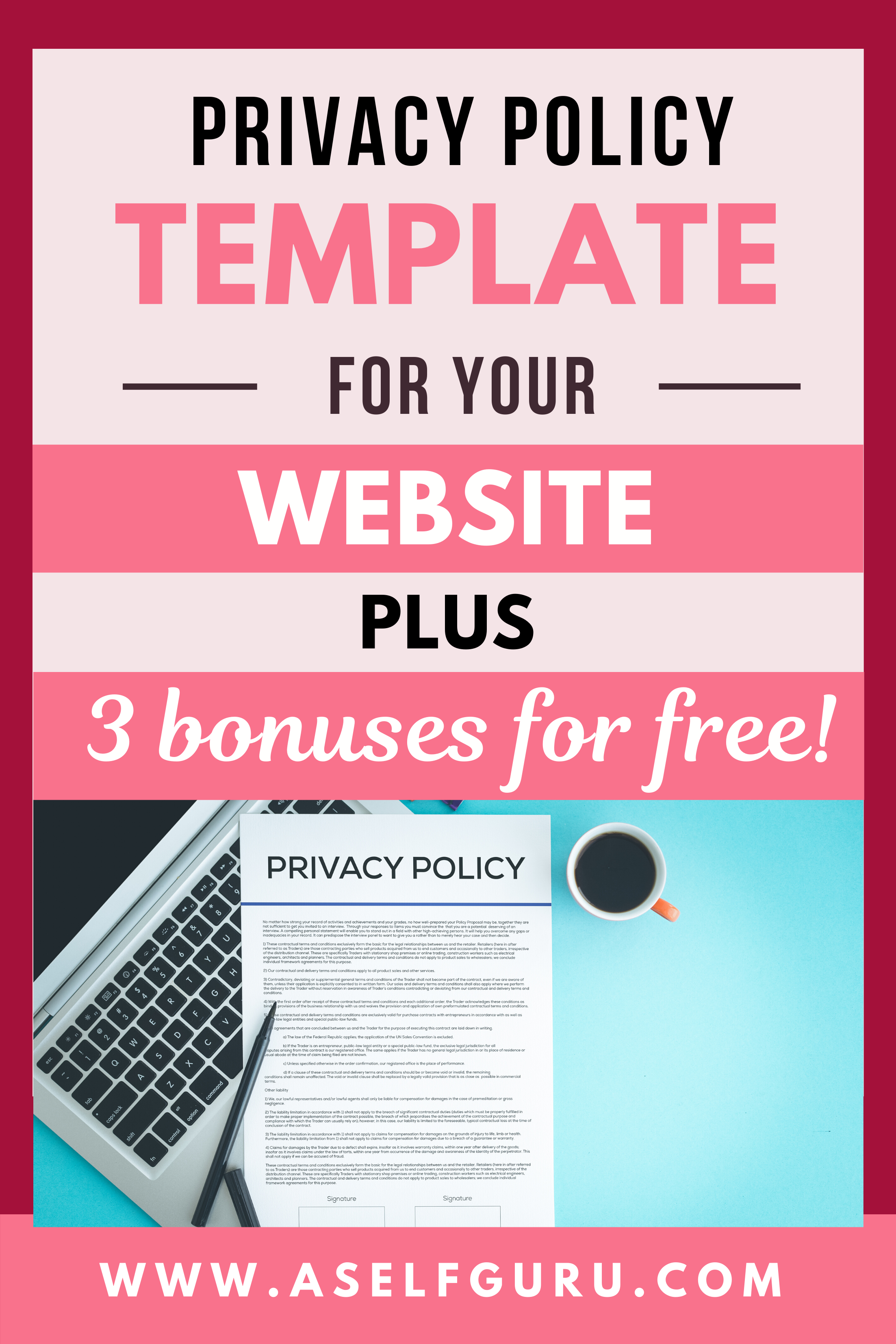 Privacy Policy Template Policy Template Business Blog Blog Legal