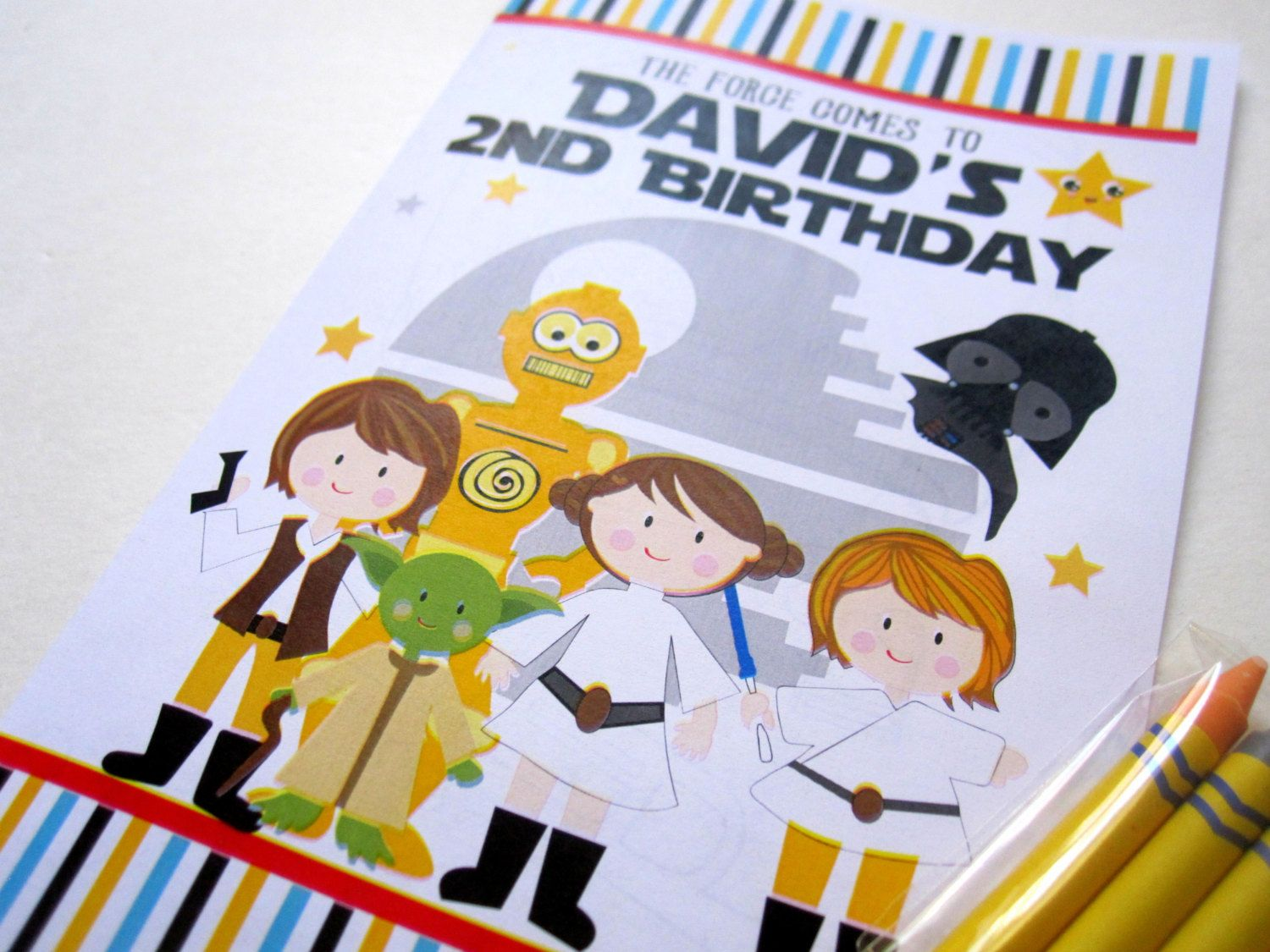 New to Mariapalito on Etsy: 6 Star Wars Coloring Books Party ...