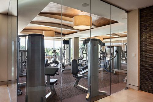 Gym Photos Design, Pictures, Remodel, Decor and Ideas - page 14