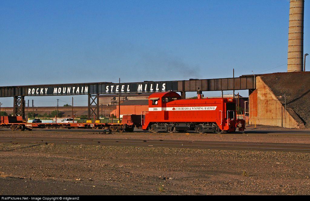 Photo 205 Colorado & Wyoming Railway EMD
