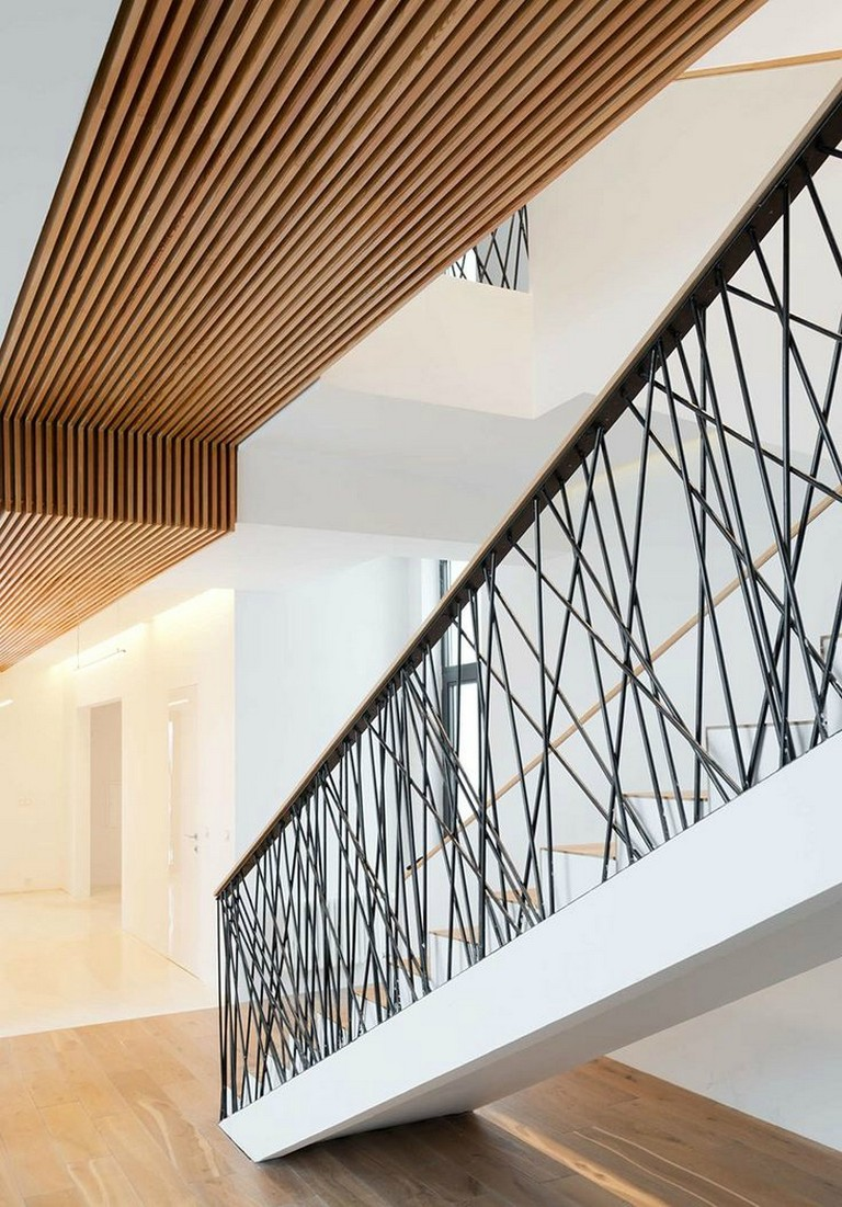 45+ Awesome Stair Railing Ideas | Stairway design, Stair ...