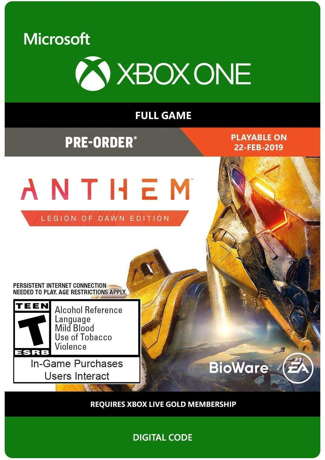 Wow Anthem For Xb1 For 19 99 Hurry Up And Grab It Https Www