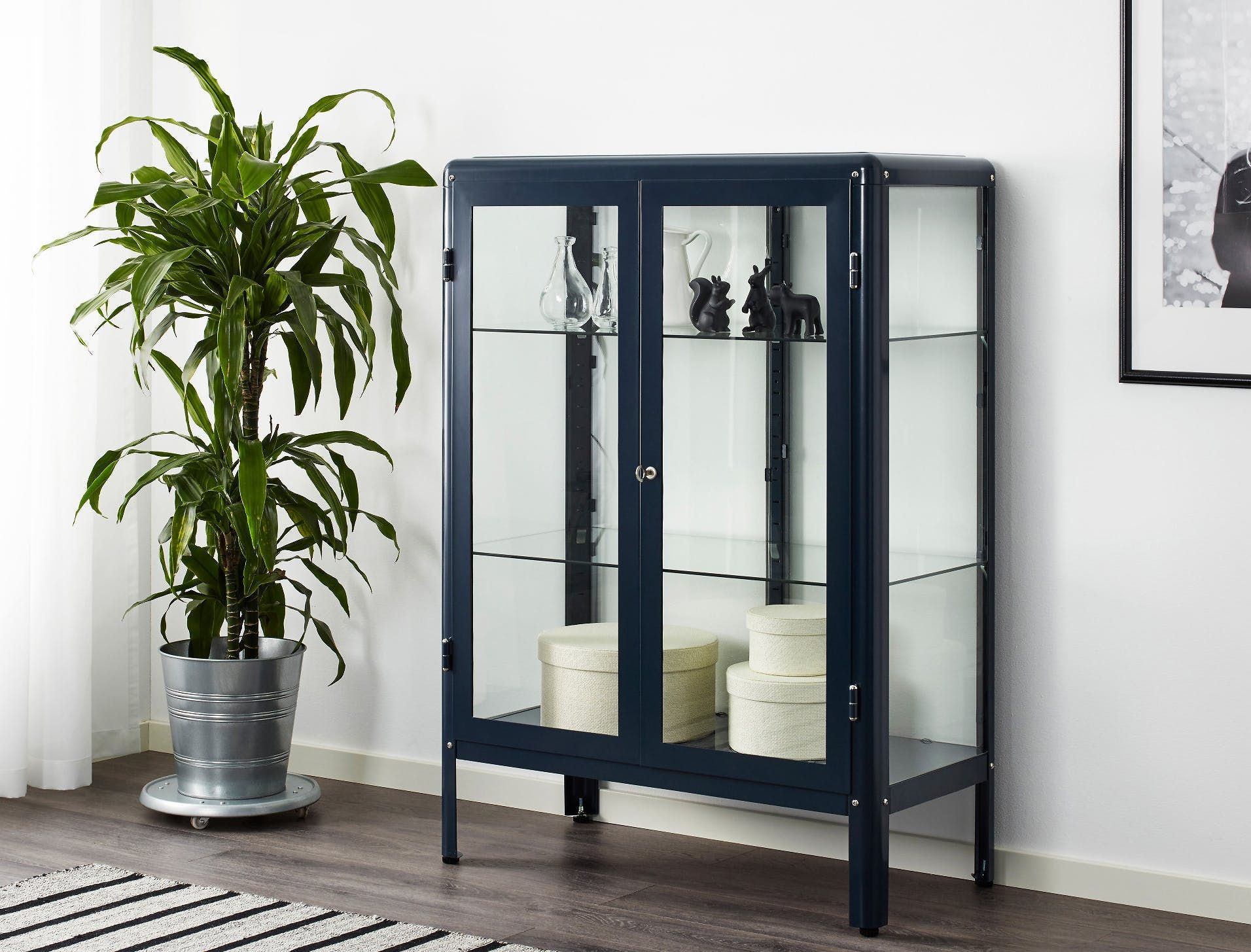 Eke Out More Space Stylish Storage Cabinets For Small Living