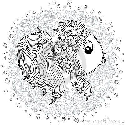 Resultado De Imagem Para Henna Para Pintar Coloring Books Fish Coloring Page Tribal Art Designs