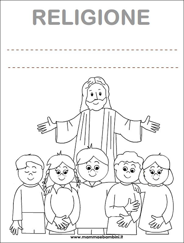 Disegni Da Colorare E Stampare Di Religione