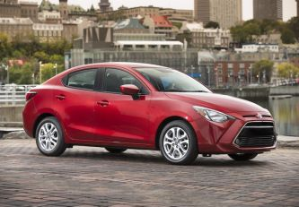 First Drive 2016 Toyota Yaris Review Toyota Mazda First Drive