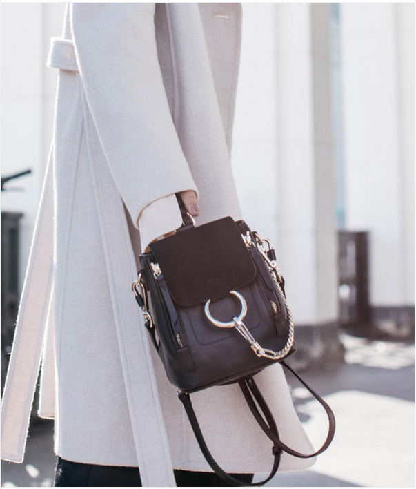 CHLOE-Faye Backpack  494c73918b