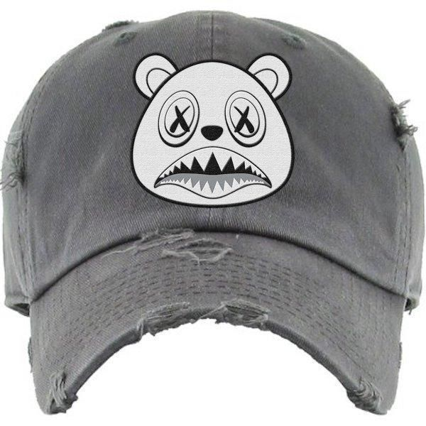 c30d8c75727527 Ghost Baws Charcoal Dad Hat