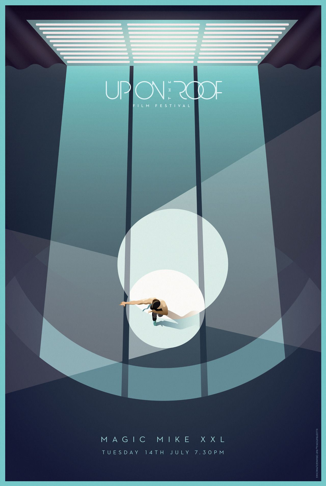 Poster design xxl - Magic Mike Xxl 2015 Minimal Movie Poster By Ray Oranges Amusementphile