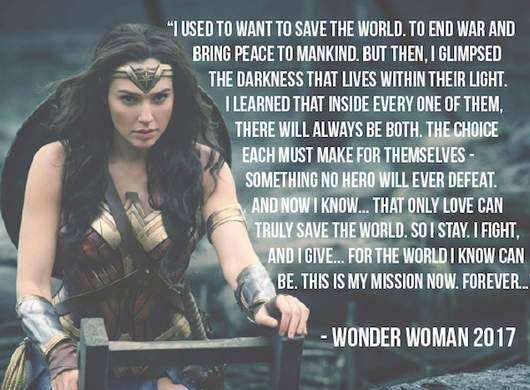 Show Love Wonder Woman Wonder Woman Quotes Women Empowerment Quotes Woman Quotes