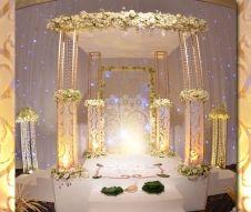 Lassana Flora Wedding Poruwa Wedding Arch In 2019