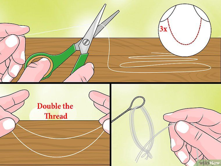how to string pearls with thread