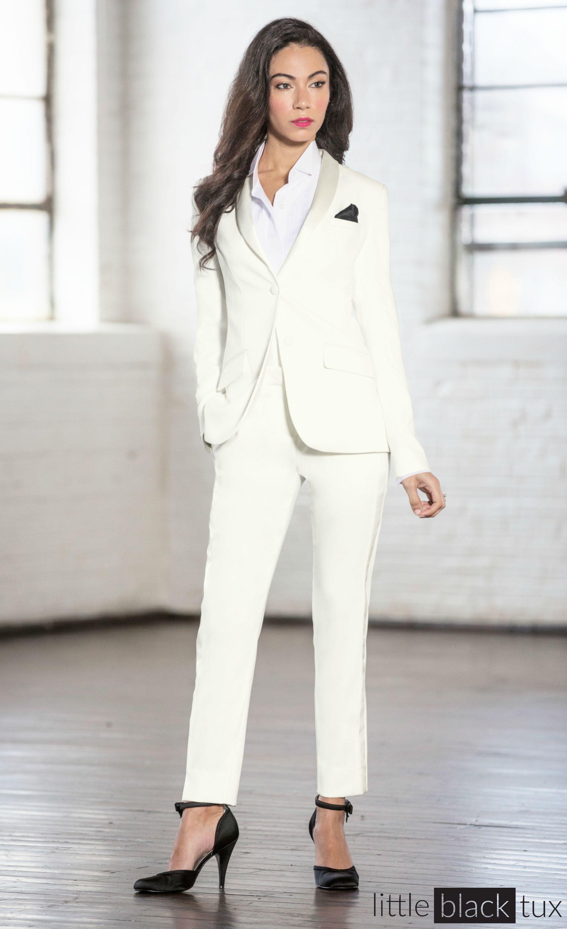 Women S Ivory Diamond White Tuxedo Ladytux Shawl Collar Slim Fit Belt Loops Satin Lapel Female Tux Tuxedo Women Women Suits Wedding White Tuxedo Wedding [ 3106 x 1896 Pixel ]